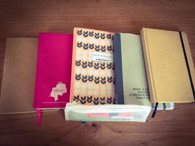 Notitieboekjes voor old school notities